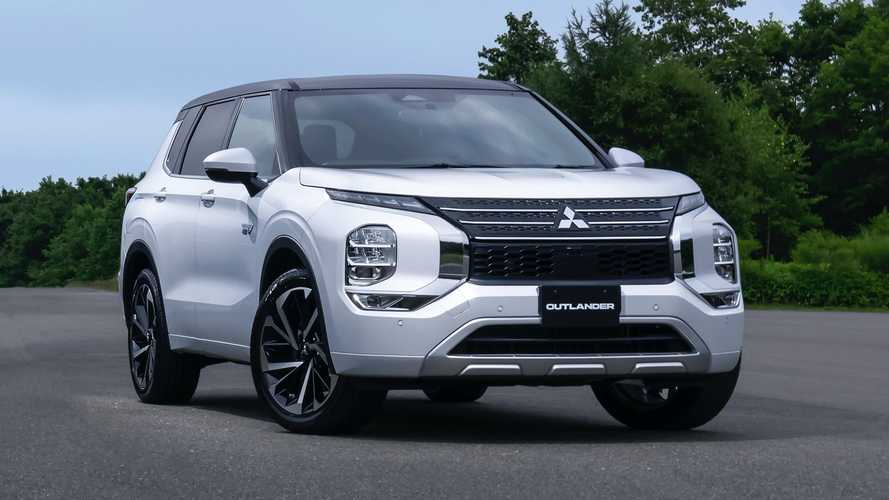 Mitsubishi Unveils 2023 Outlander PHEV And It's Just As Expected