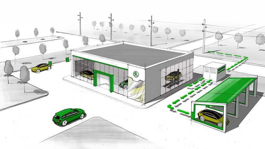 Ecco cosa fa Skoda con le batterie usate delle auto elettriche