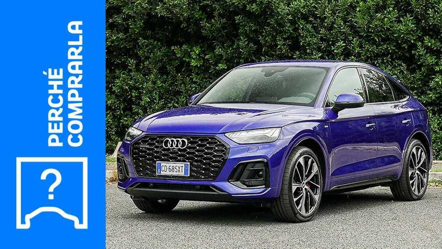 Audi Q5 Sportback (2021), perché comprarla e perché no