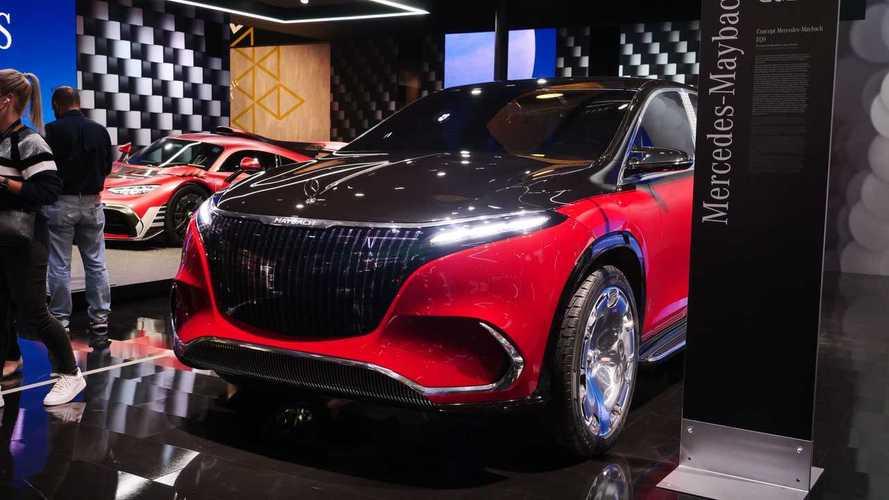 Photos Mercedes Maybach EQS, IAA 2021