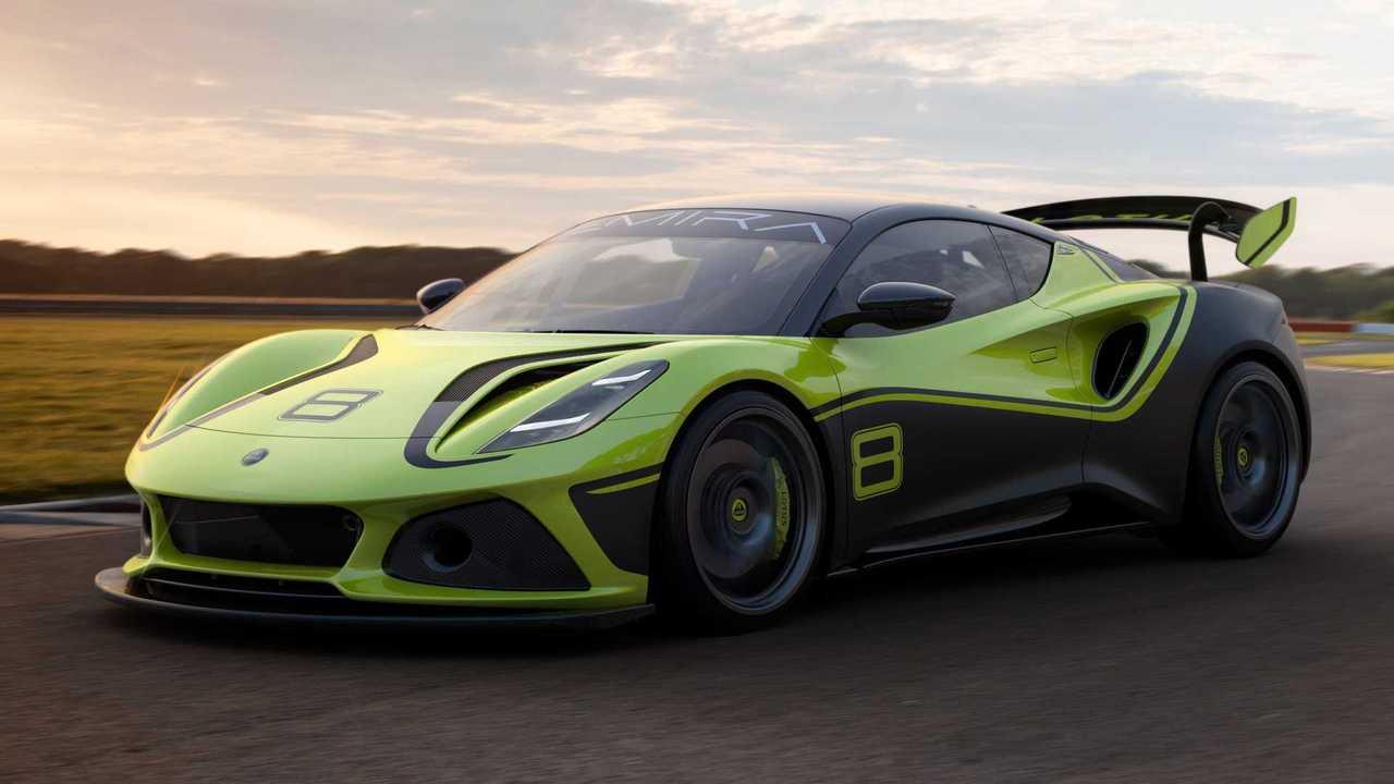 Lotus Emira GT4 Ön Cephe