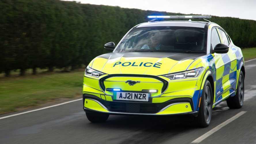 Ford Mustang Mach-E de policía