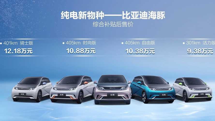BYD Launches Dolphin At The Chengdu Auto Show