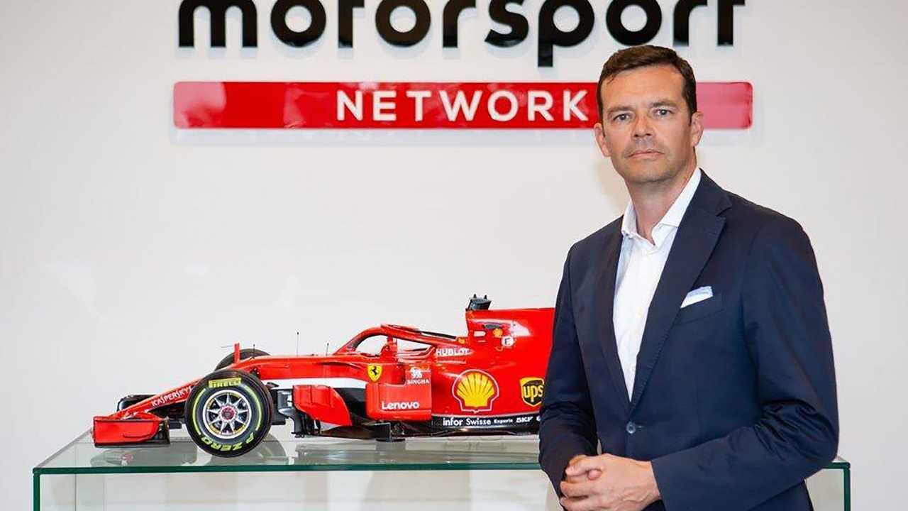 Oliver Cielsa, a.d. di Motorsport Network