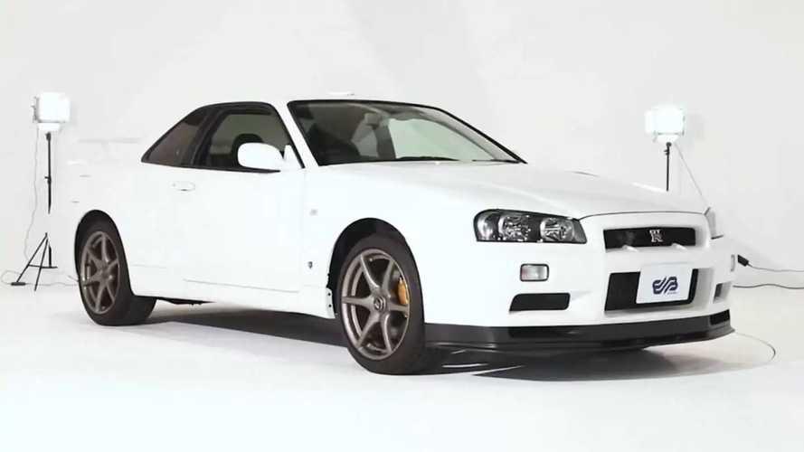 Megvásárolható egy vadonatúj 2002-es Nissan Skyline GT-R V-Spec II Nur