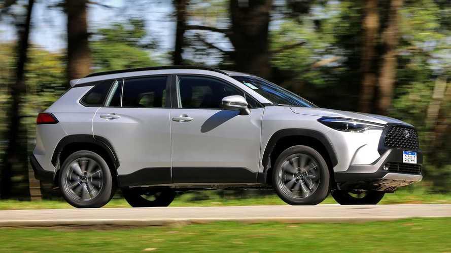 SUVs mais vendidos em junho: Corolla Cross se aproxima do Compass