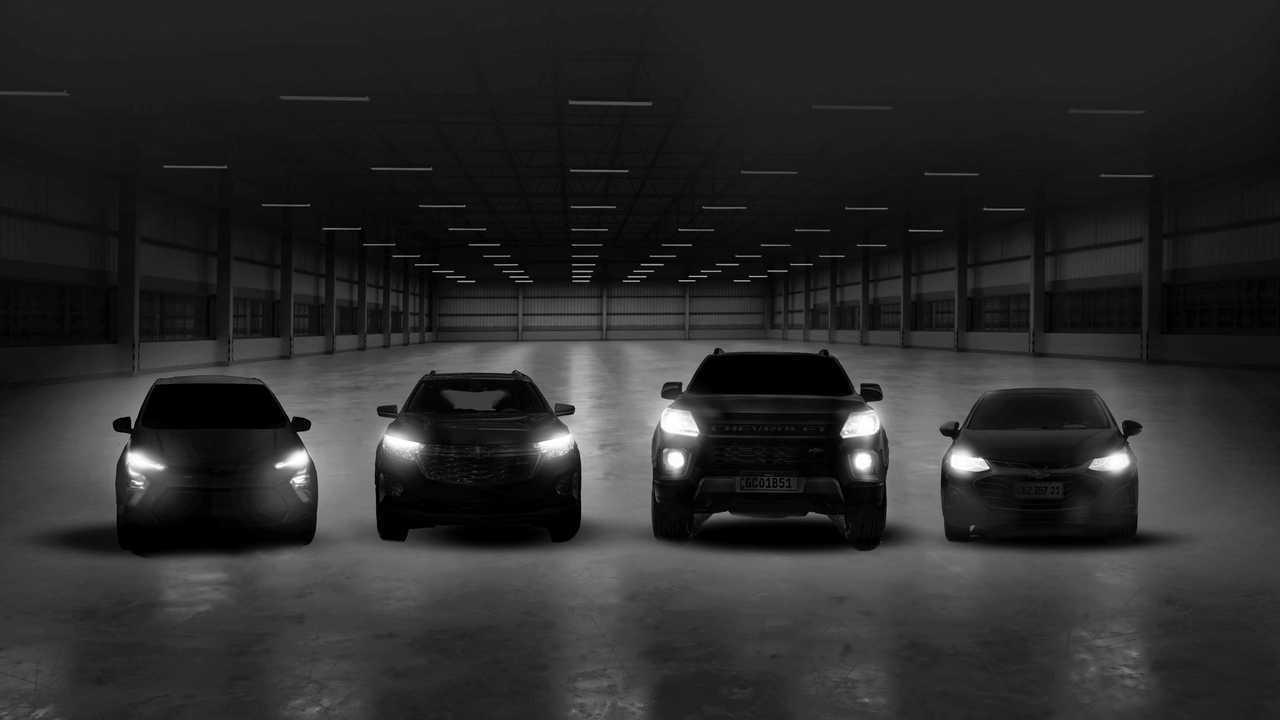 Chevrolet - Quatro lançamentos em 2021