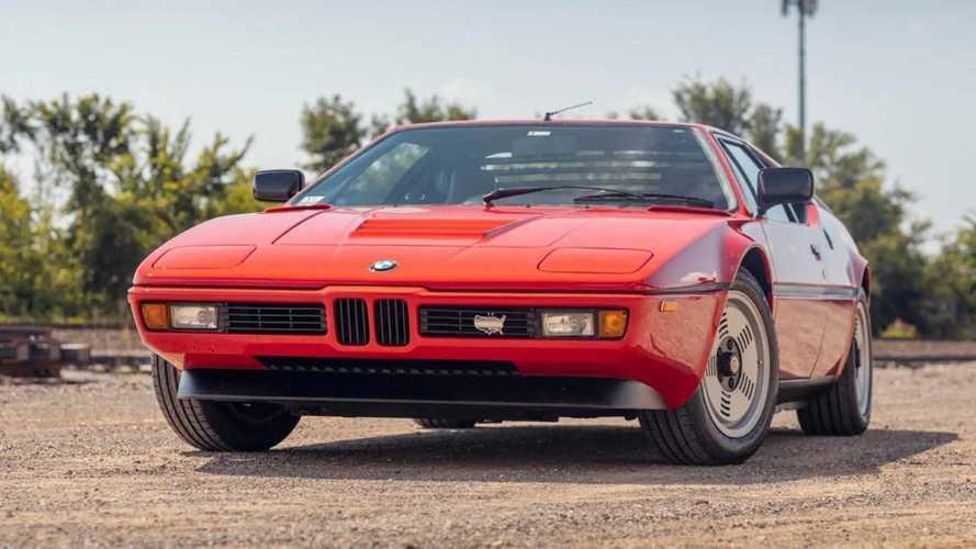 Eladó 1980-as BMW M1