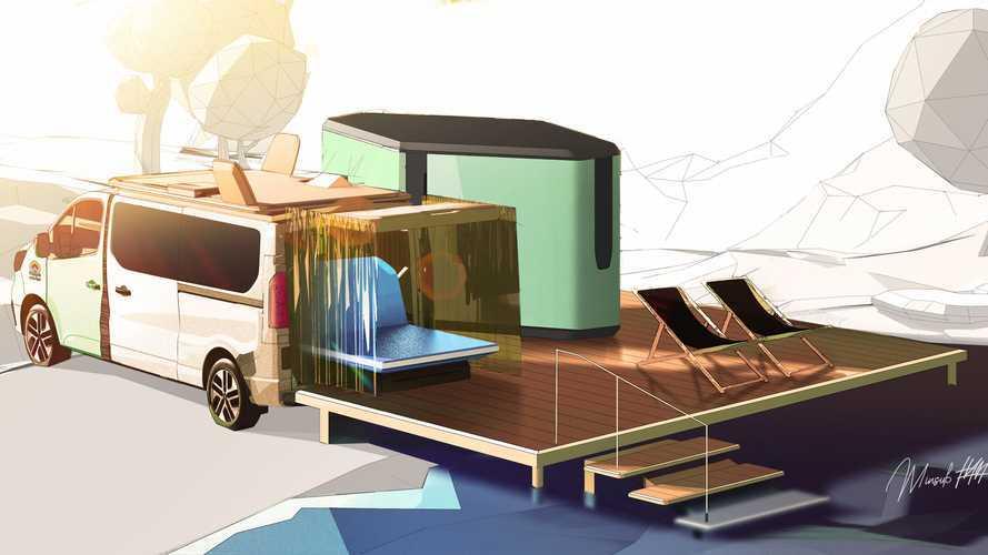 Renault Hippie Caviar Hotel concept, questo camper è un albergo