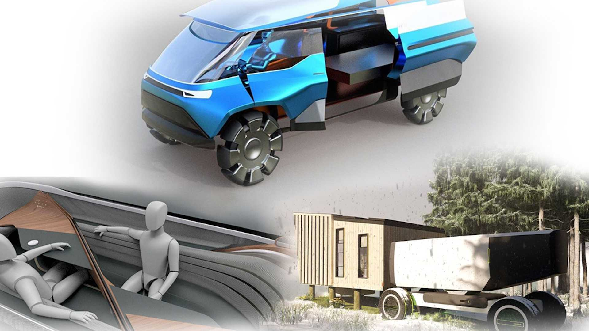 """""""Future of Mobility"""" by VW and Academy of Art's School of Industrial Design"""