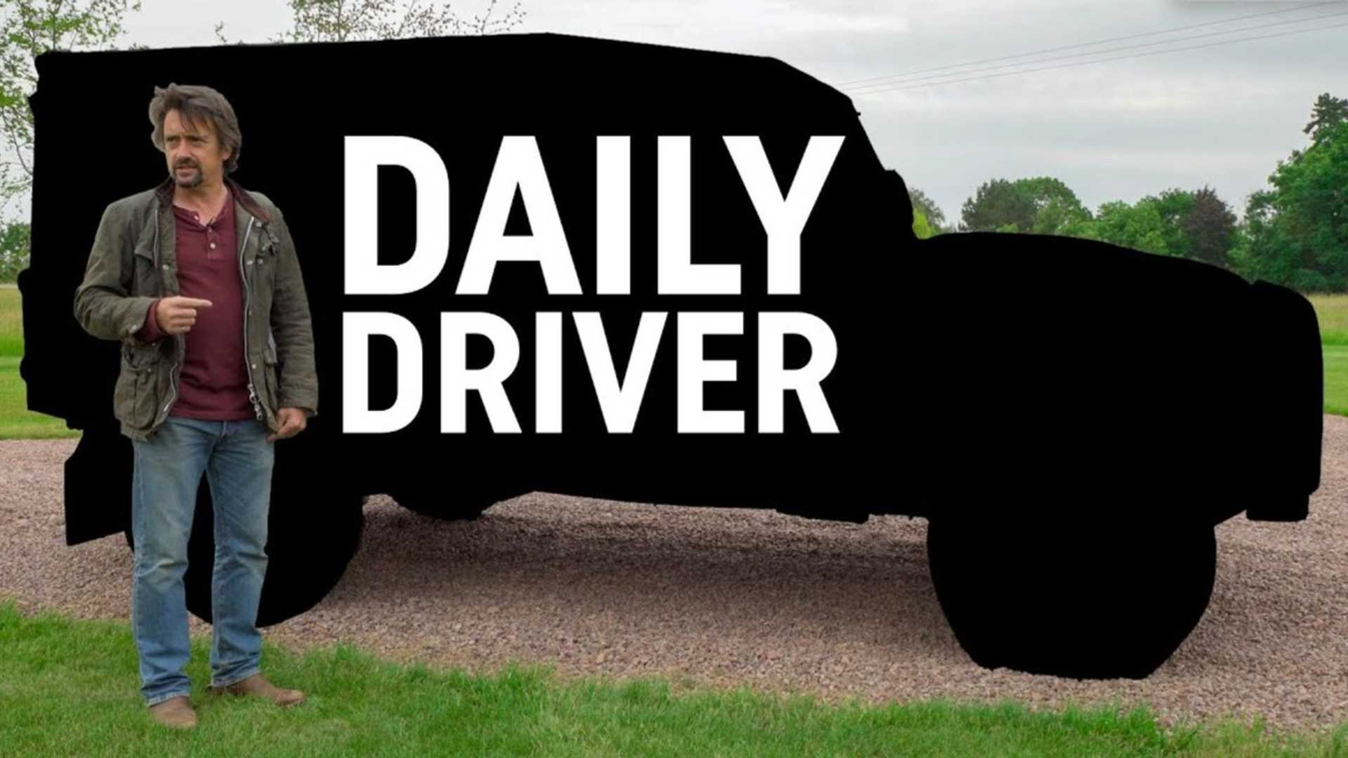 Ричард Хаммонд демонстрирует свой ежедневный автомобиль