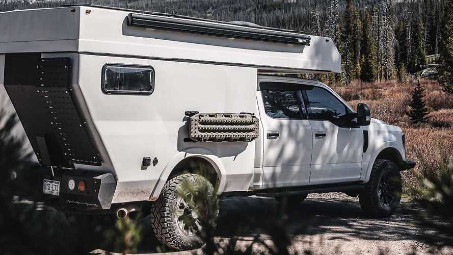 Baja Truck Camper Arrives Combining Gorgeous Cabin, Rugged Ability