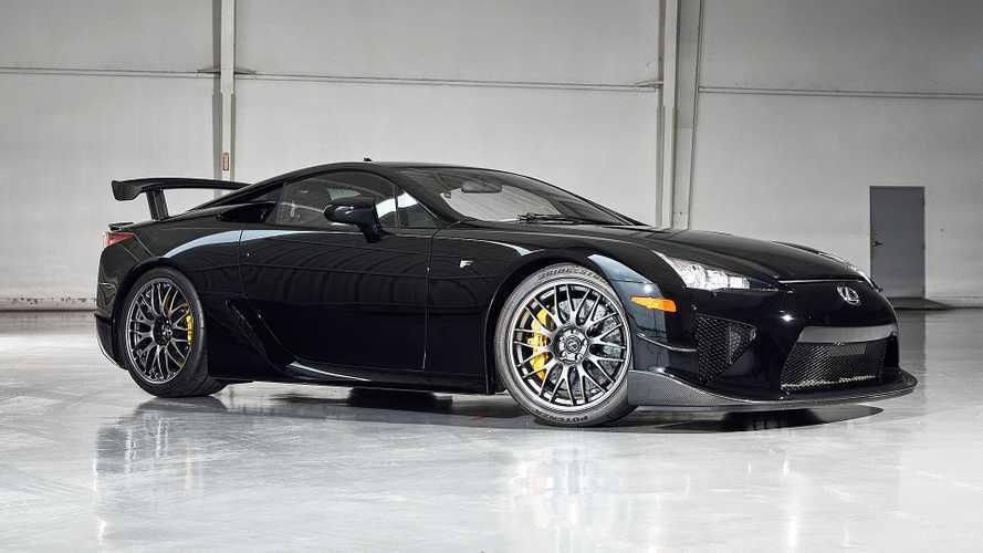 Auto da un milione di dollari: all'asta una Lexus LFA Nurburgring