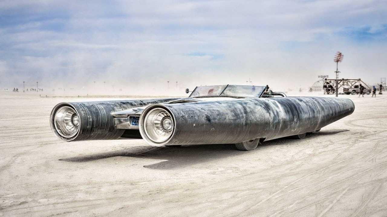 Rocket Car by David Best