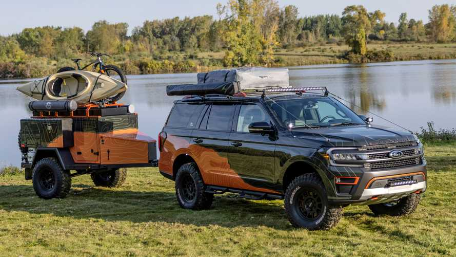 Ford Expedition Timberline Off-Grid Concept Is All About Overlanding