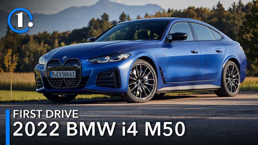 2022 BMW i4 M50 First Drive Review: Something Old, Something New