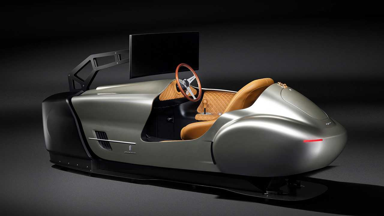 Pininfarina Leggenda eClassic, il simulatore di guida per auto d'epoca