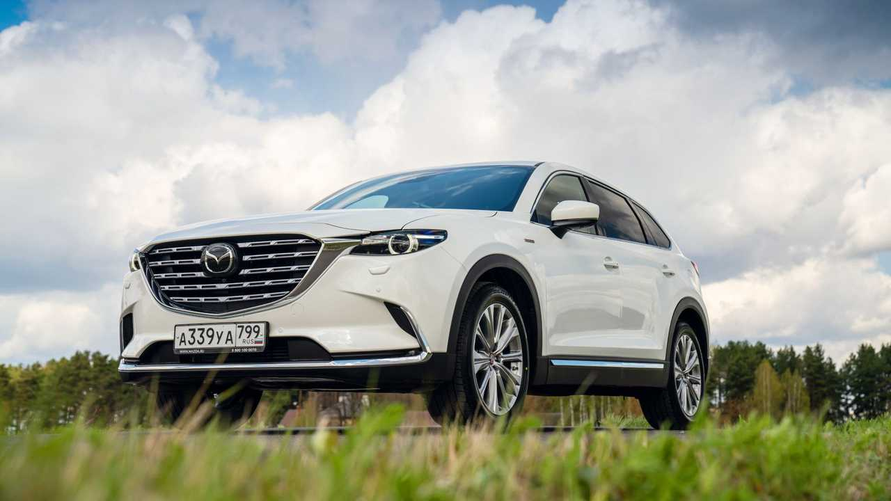 Der überarbeitete Mazda CX-9 für Russland