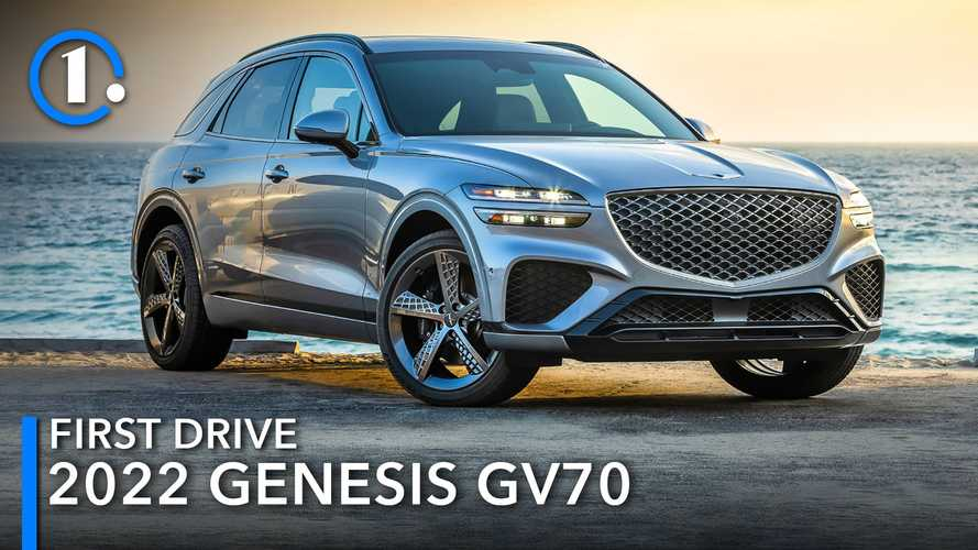 2022 Genesis GV70 First Drive Review: Contrasts Along The Coast