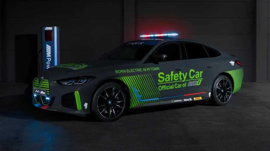 BMW i4 M50 se torna o 1° safety car 100% elétrico da marca