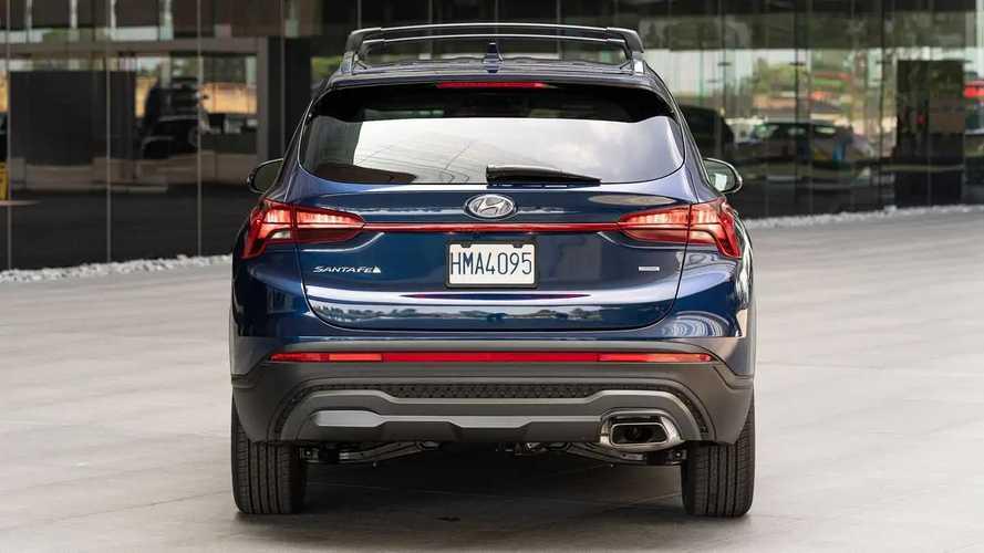 Hyundai Santa Fe 2022 dengan Trim XRT