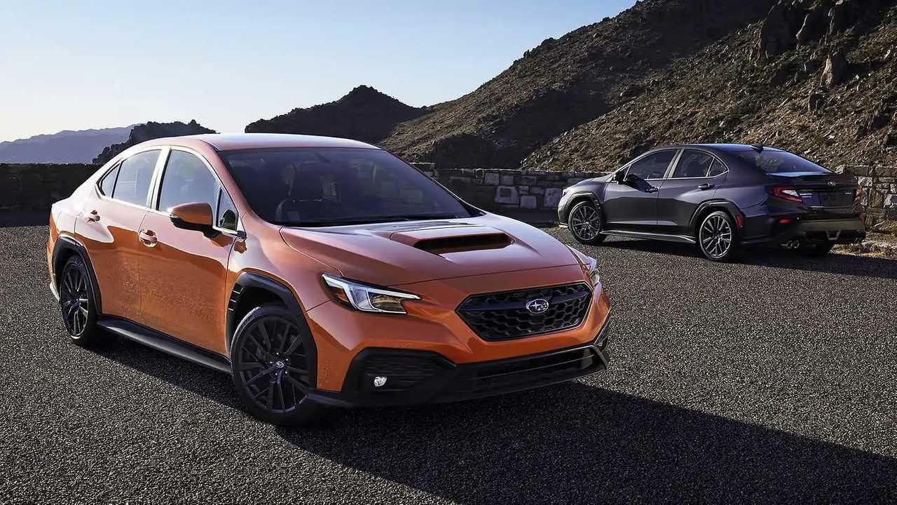 Nuova Subaru WRX (2022)