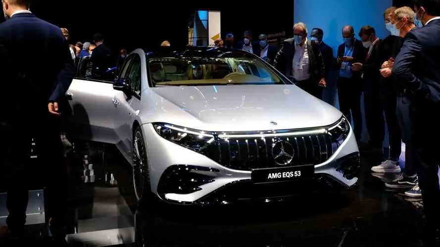 Mercedes-AMG EQS 53 at IAA 2021