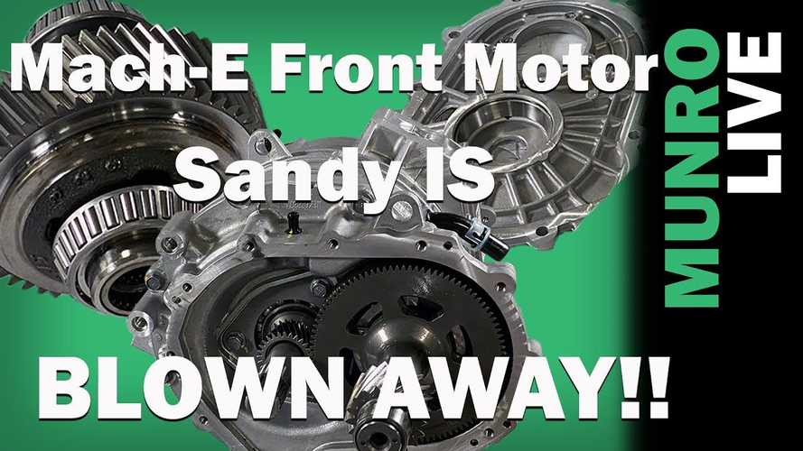 Sandy Munro Is Blown Away By Ford Mach-E's Front Drive Unit
