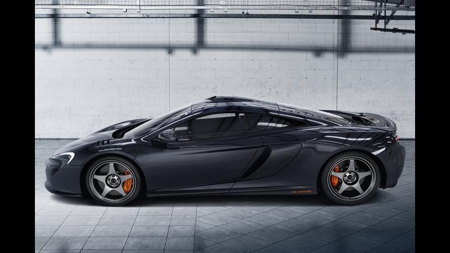 McLaren 650S Le Mans, aria di vittoria