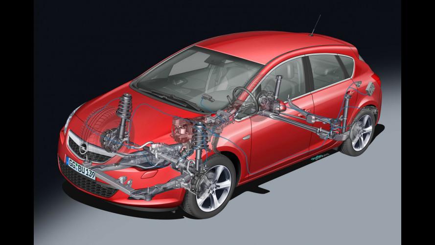 Nuova Opel Astra: sospensioni d'autore