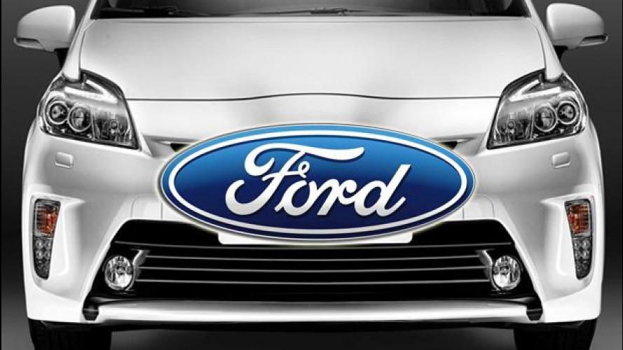 """Ford lavora alla """"sua"""" Toyota Prius"""