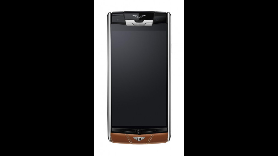 Vertu Bentley, lo smartphone