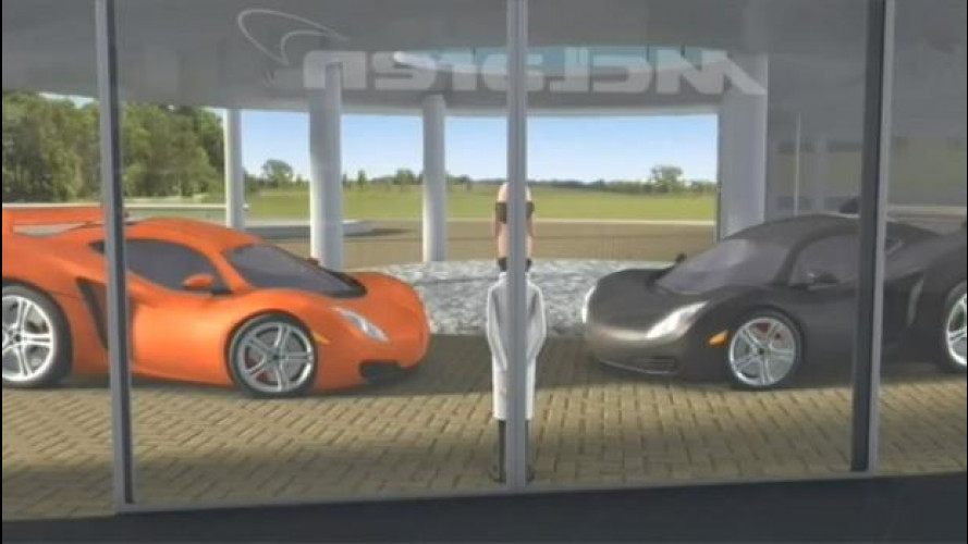McLaren svela i segreti del suo centro tecnologico... in un cartone