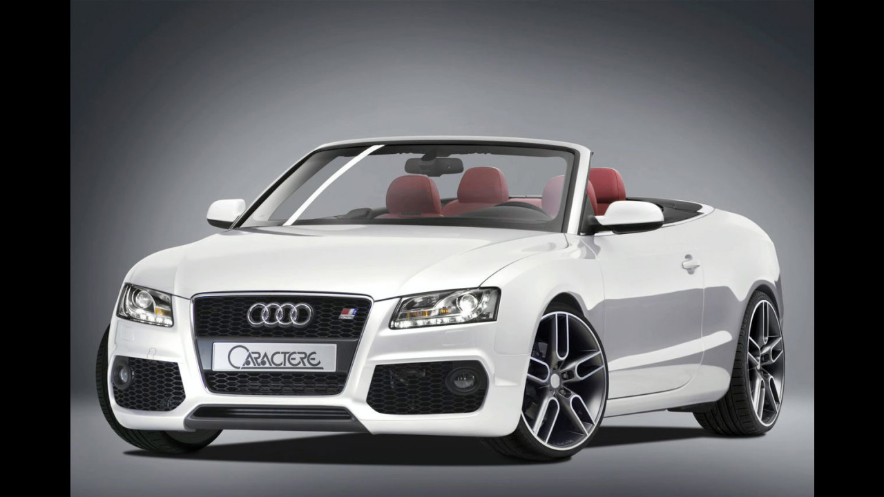 Audi A5 cabriolet by Caractere
