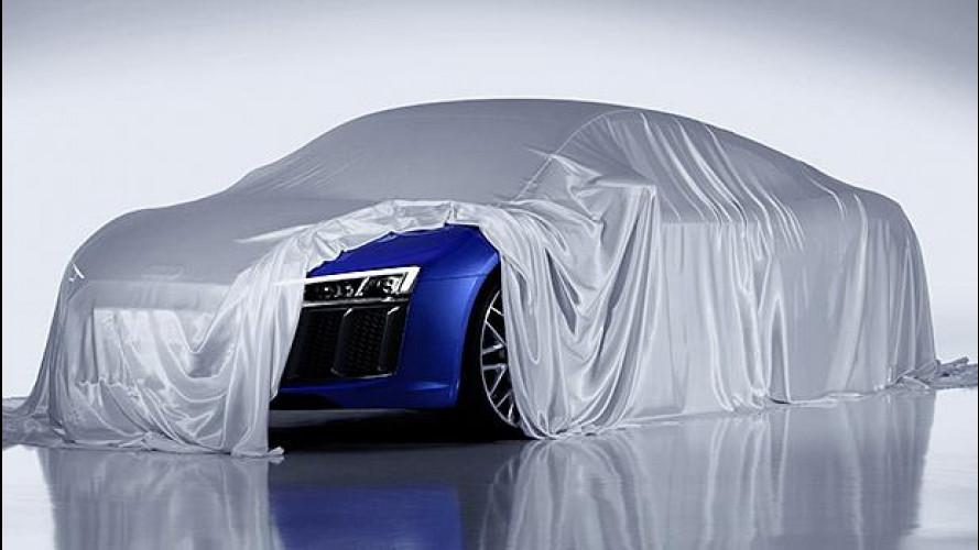 [Copertina] - Nuova Audi R8, per ora svela i fari laser