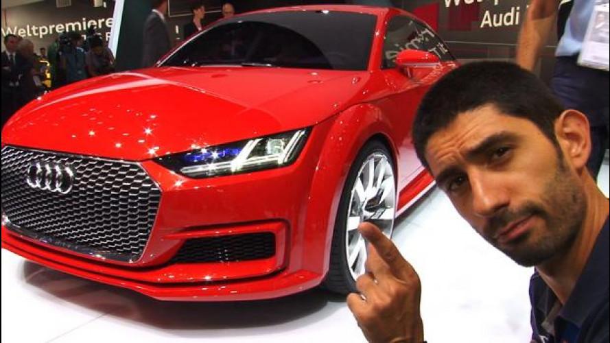 Salone di Parigi: Audi TT Sportback, quattro (porte) è meglio di due?