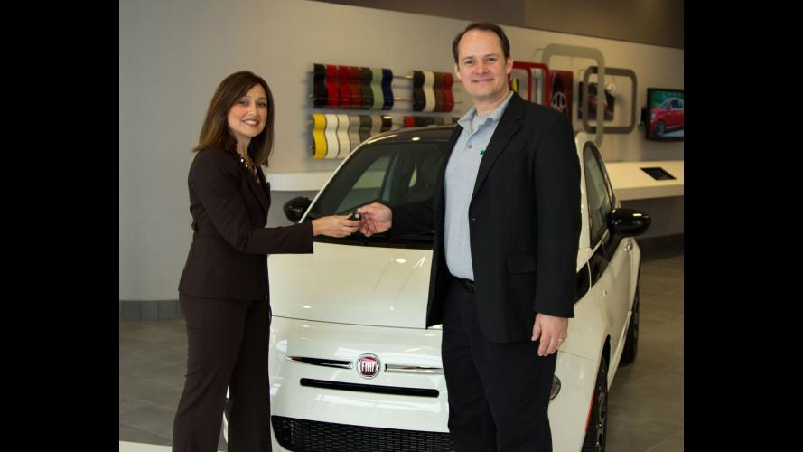 Fiat 500, il primo cliente americano