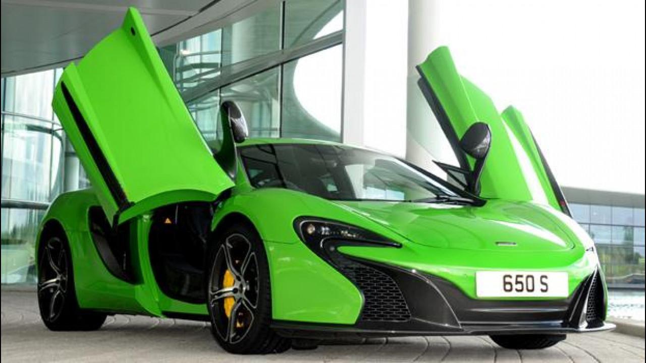 [Copertina] - La targa per la vostra McLaren? All'asta da 400 a 5.000 euro