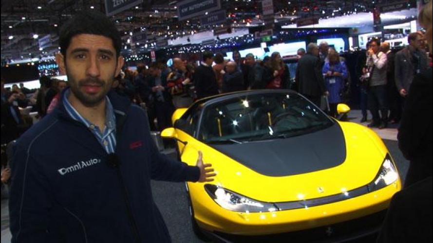 Pininfarina Ferrari Sergio, finalmente vista dal vivo