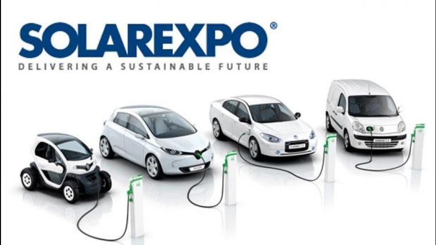 Renault presenta la sua gamma elettrica al Solarexpo di Verona