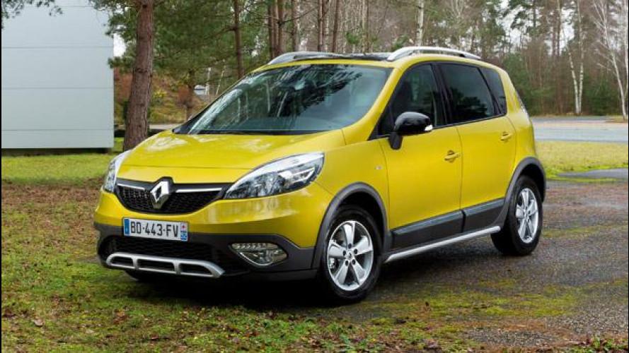 Renault Scenic XMOD Cross, quasi fuoristrada