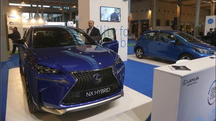 Ecomondo, ad H2R Toyota e Lexus