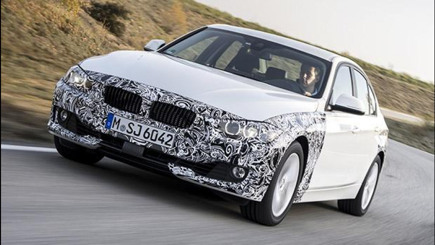 BMW Serie 3 plug-in hybrid, potenza ed efficienza