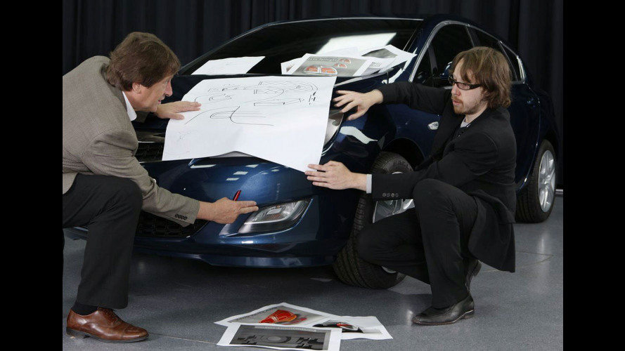 Nuova Opel Astra: i primi teaser