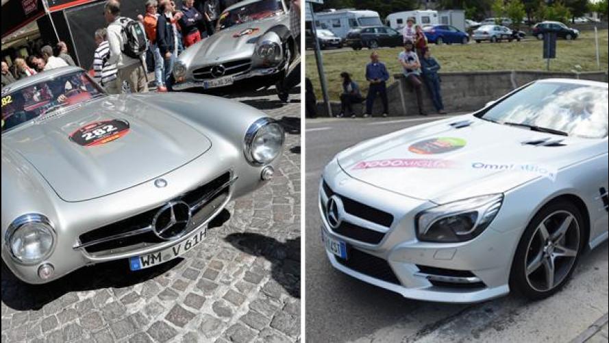 """Mercedes SL, 60 anni di """"Sport Leicht"""" alla Mille Miglia 2012"""