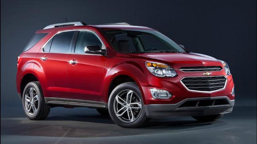 Chevrolet Equinox, nel 2015 si rinnova