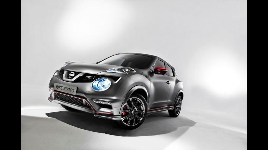 Nissan Juke Nismo RS, prezzi da 30.000 euro