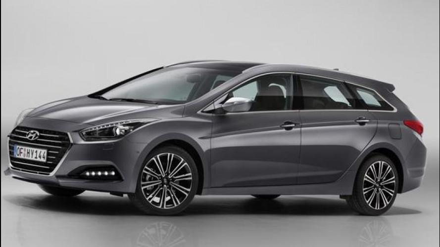 Hyundai i40, restyling con un tocco di Genesis