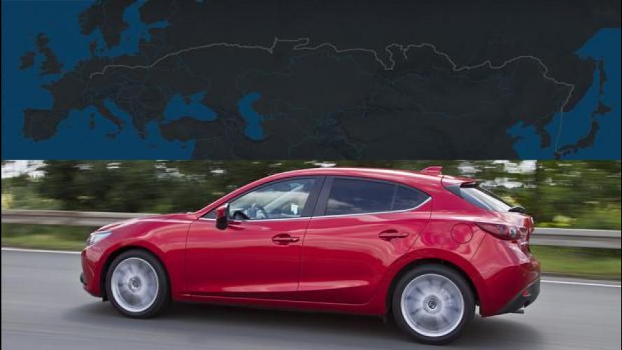 Nuova Mazda3 è pronta per il test di resistenza da 15.000 km