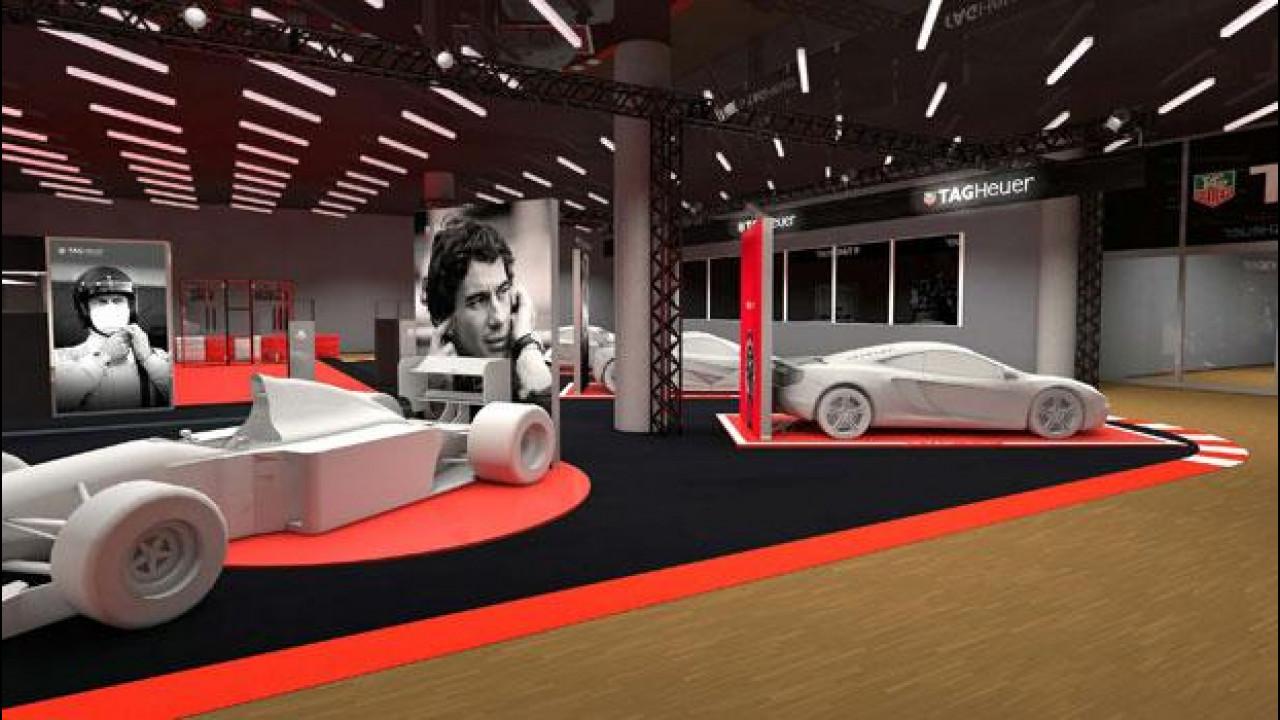 [Copertina] - Salone di Ginevra 2015, TAG Heuer celebra Senna e il motorsport